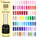 Schellack Gelnagellack 12ml UV-LED Gelpolitur Nagellack 12ml Soak off   ( Farbe 1001-1040 )