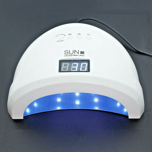 Sunone 1S mit Display LED UV Lampe mit Display Professional LED  Light 48W